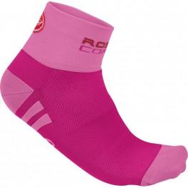 Castelli cyklistické ponožky ROSA CORSA 16060