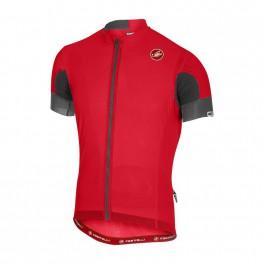 Castelli pánský cyklistický dres  AERO RACE 4.1 SOLID JERSEY FZ 18004