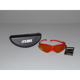Cyklistické brýle AXON - červená