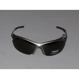 Sportovní polarizační brýle POLAROID - stříbrná - černá