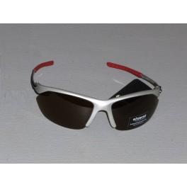 Sportovní polarizační brýle POLAROID - stříbrná - červená