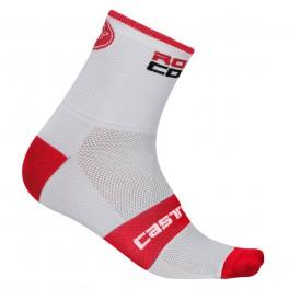 Castelli cyklistické ponožky ROSSO CORSA 6 SOCK 17036
