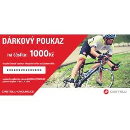 Dárkový poukaz na nákup na castelli-cycling.cz